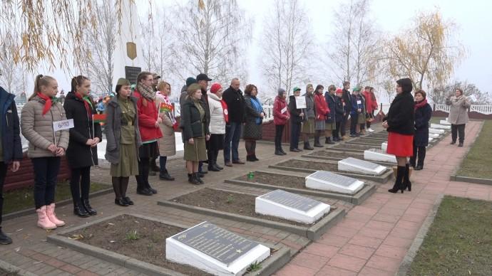 В Берёзовском районе проходит акция «Во славу общей Победы»
